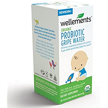 Amazon Com Wellements Organic Probiotic Gripe Water For