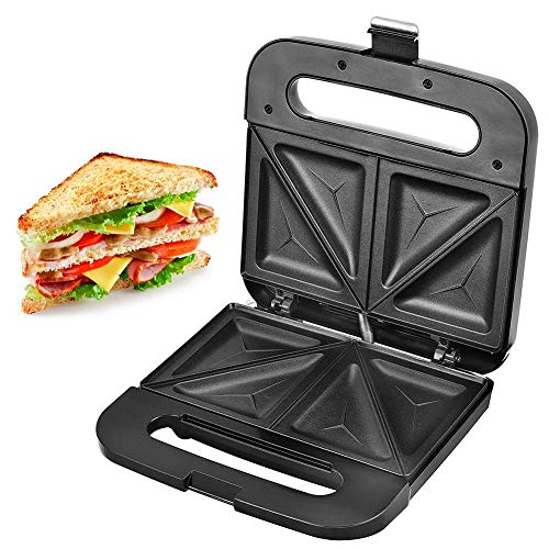 QIN.J.FANG-Kitchen Non-stick Coating Sandwich Maker,Multi-Fu