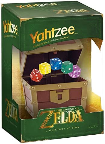 Yahtzee: The Legend of Zelda: USAopoly: Amazon.es: Juguetes y juegos