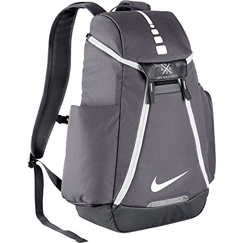 Nike Hoops Elite Max Air Team 2.0 Basketball Backpack Charcoal/Dark Grey/White by NIKE