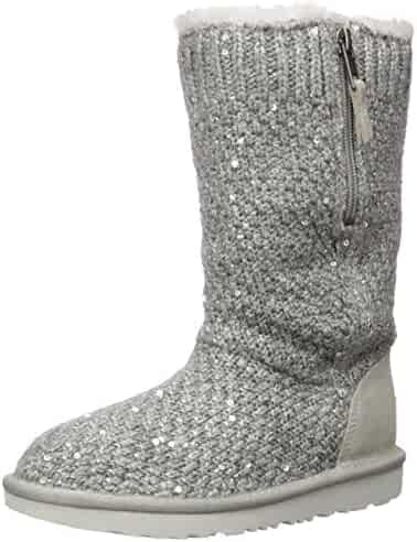 UGG Kids' Sequin Knit Fashion Boot