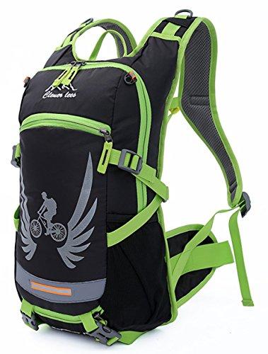 SHENJIE Reise Rucksack groß Wandern Camping Rucksack Resistang Tasche für Männer Frauen Reise Freizeit Rucksack Grün