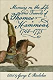 img - for Memoirs on the Life and Travels of Thomas Hammond, 1748-1775 book / textbook / text book