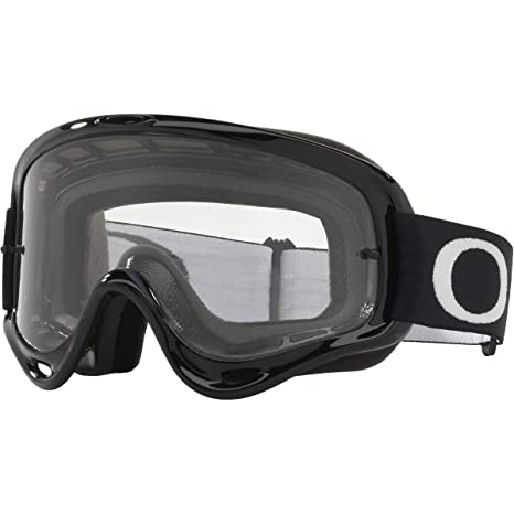 4743c289b22 Amazon.com  Oakley O Frame MX Adult Off-Road Motorcycle Goggles - Jet Black Clear   Automotive