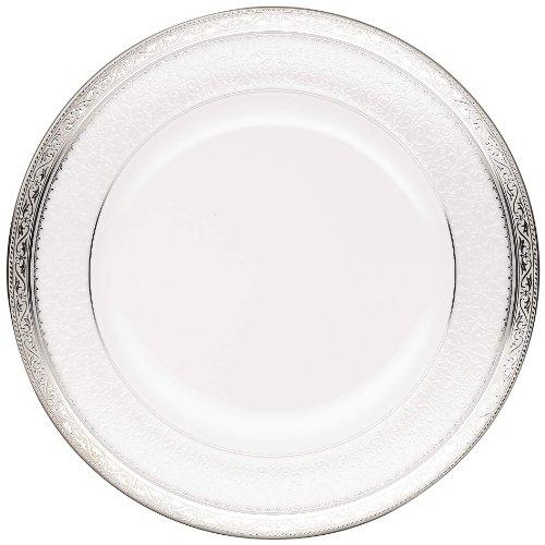 Noritake Odessa Salad Plate, 8-1/2-Inch, Platinum