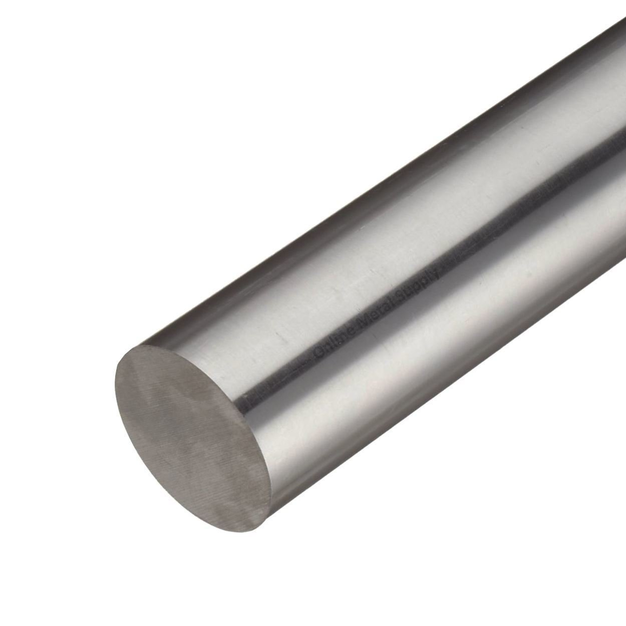 Online Metal Supply Alloy C276 Nickel Round Rod, 4.000 (4 inch) x 2 inches by Online Metal Supply
