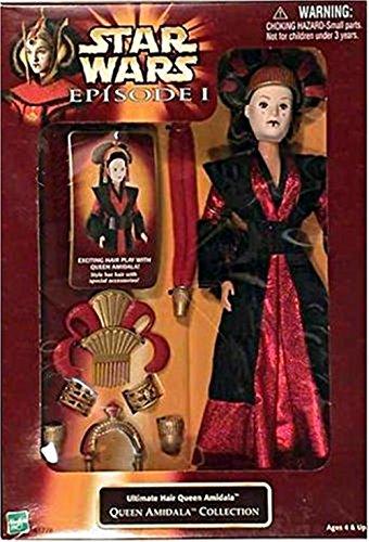 Star Wars Episode I Ultimate Hair Queen Amidala - Queen Amidala Collection (1998)]()