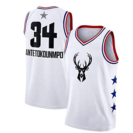 Camiseta De La NBA Para Hombre 2019 All-Star Fan Jersey Traje De ...