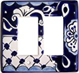 Double Decora Traditional Talavera Switch Plate