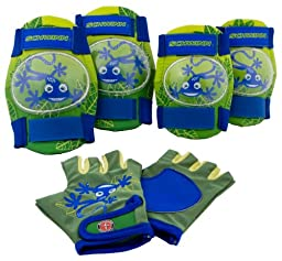 Schwinn Boy\'s Pad Set with Knee Elbow and Gloves
