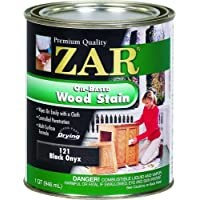 Zar 12112 Onyx Wood Stain, Black by ZAR