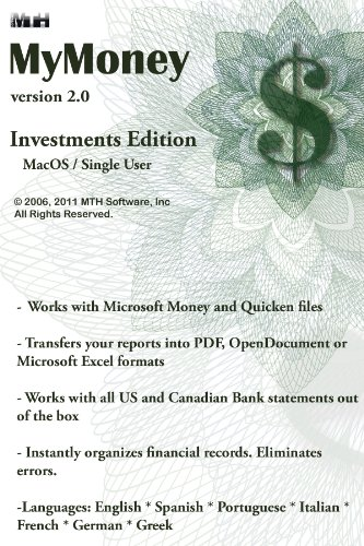 MyMoney 2.0 Investments for Mac [Download]