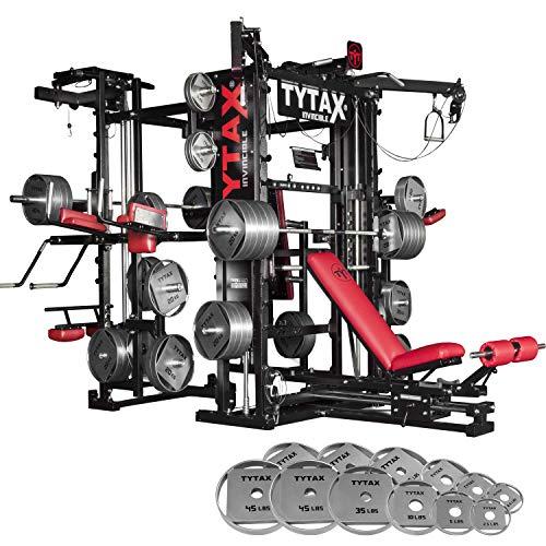 TYTAX T3-X Best Home Gym Machine – New Year's Weight Bundle – 335lbs