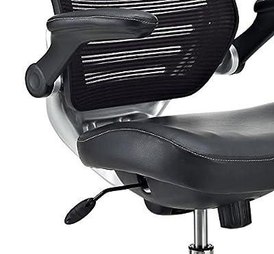 LexMod Edge Drafting Chair, Brown