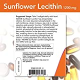 NOW Foods Supplements, Sunflower Lecithin 1200 mg