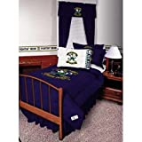 Notre Dame Fighting Irish Queen Size Bedskirt