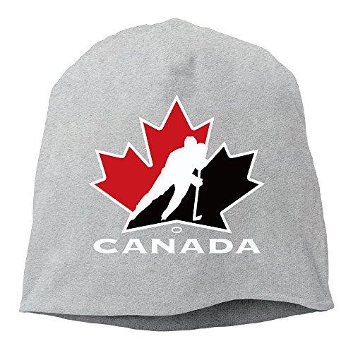 Unisex Stylish World Cup Of Hockey Team Canada Slouchy Beanie Skull Hat ∩ Ash - Playstation Gift Card Canada