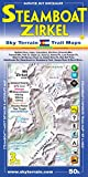 Steamboat Springs Mount Zirkel Trail Map 3rd Edition