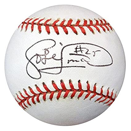 26a8317bdf6 Jose Lima Signed Baseball - AL  K16275 - PSA DNA Certified ...