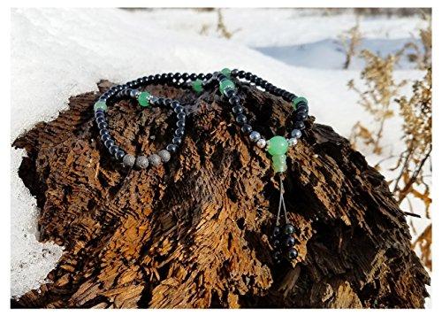 Tibetan Mala Necklace Chakra Necklace for Buddhist Prayer