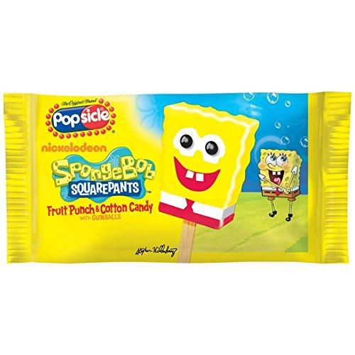 Popsicle Spongebob Squarepants Bar, 4.0 oz. (18 count)