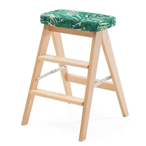 Jinxin-stools Sillas Plegables Taburete Plegable Simple de ...