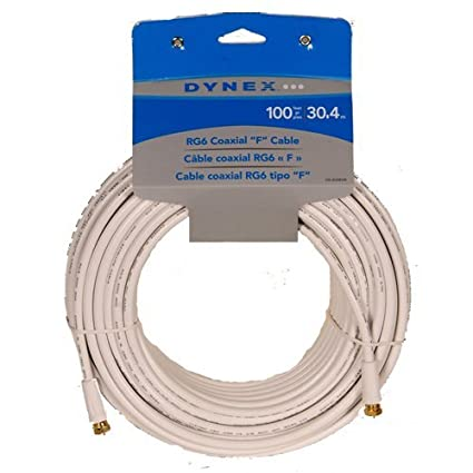RG6 Coaxial Cable (DX-AV085W)
