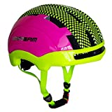 ESASAM Adult Cycling Bike Helmet Specialized for Men Women Safety Protection Impact Resistance Ventilation for Multi-Sports Cycling Skateboarding Scooter Roller Skating (Rose and Purple, Medium)
