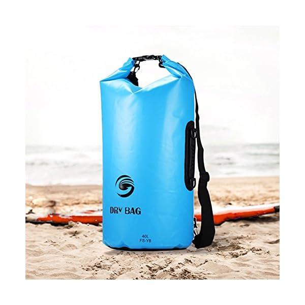 85099fdcba Sacca Impermeabili Borsa Waterproof 40L, GrandBeing® Borse ...