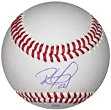 Ronald Guzman, Texas Rangers, Signed, Autographed, Baseball, a Coa and Proof Photo of Ronald Signing Will Be Included