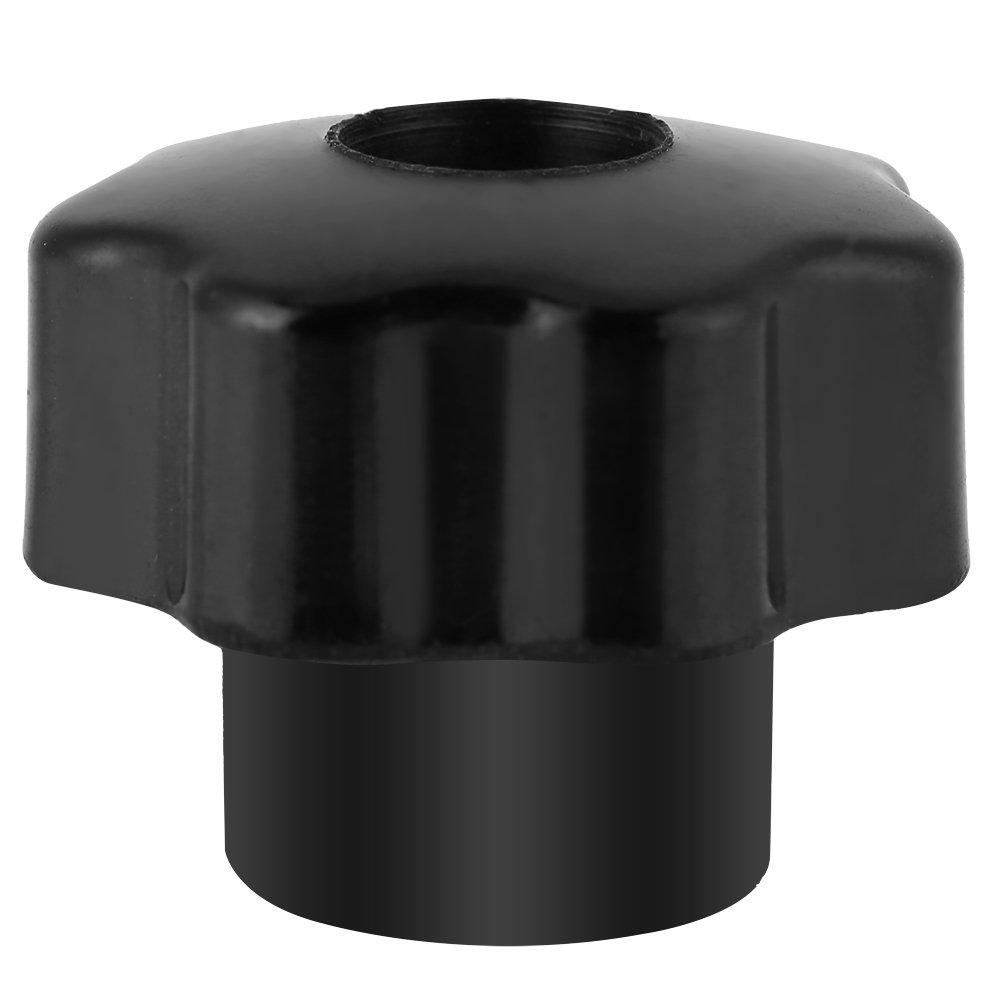 Black Knob Handle 10pcs Universal Plastic Round Shape Female Thread M6*25 Machine Handle Knob