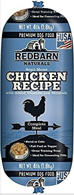 RedBarn Dog Natural Food Roll Made in USA Size:Pack of 2 Flavor:Chicken by Red Barn