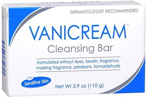 Vanicream Cleansing Bar for Sensitive Skin 3.90 oz (Pack of 9)