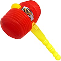 ArtCreativity Giant Squeaky Hammer, Jumbo 15 Inch Kids' Squeaking Hammer Pounding Toy, Clown, Carnival, and Circus…