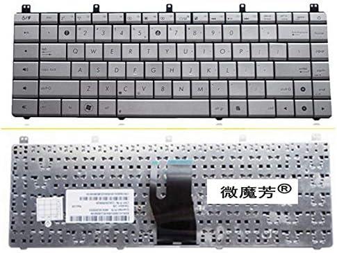 RU New Keyboard FOR ASUS N45 N45E N45S N45Vm N45-2 N45SF N45Sl N45SJ Laptop Keyboard Russian Silver