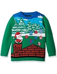 Boys' Santa Video Game Xmas Sweater