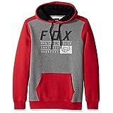 Fox Men's District 3 Pullover Fleece, Dark Red, Medium