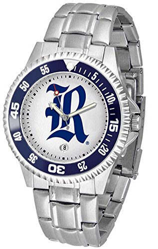SunTime Men's Rice University Owls Watch Competitor Stainless Steel