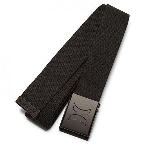 (Hurley Men's Renegade Web Belt - Black (One Size))