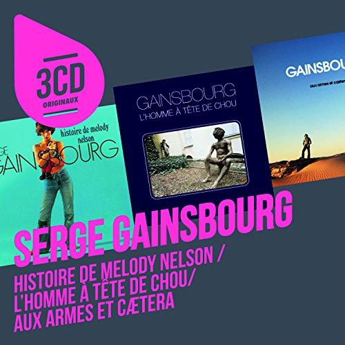 CD : Serge Gainsbourg - 3CD Originaux (Holland - Import, 3 Disc)