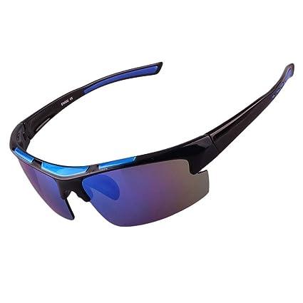 Gafas sol Deportes al Aire Libre para Hombres polarizadas Senderismo Montañismo Montar Gafas de conducción Gafas