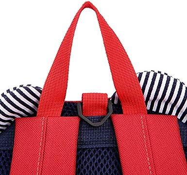 Sac /à Dos Sac Scolaire Cartable Sac pour Maternelle Garderie pour Fille Enfant B/éb/é Sac Voyage Portable Mignon en Forme Dours Chytaii