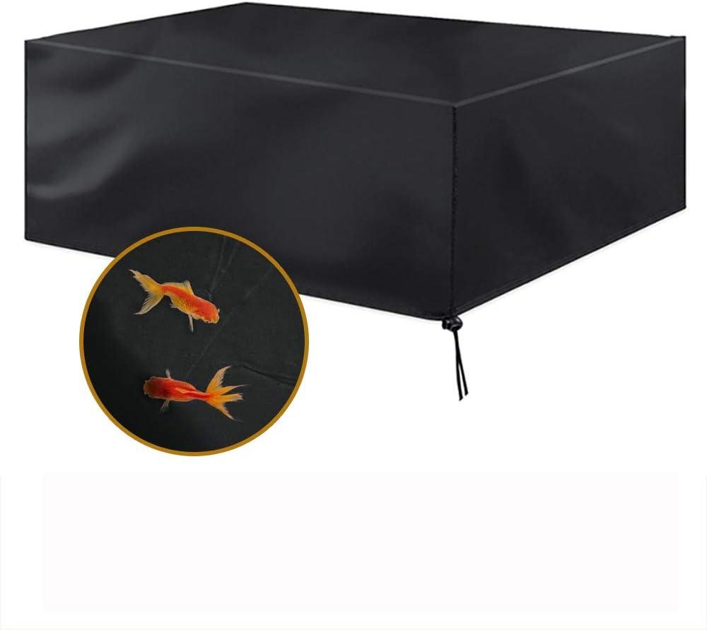 MORIASTER Funda Protectora para Muebles de jardín Funda Muebles Exterior Impermeable Anti-UV Protección Cubierta de Muebles de Mesas Oxford Negro (200 * 160 * 70)