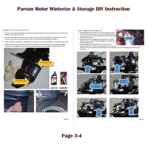 Parsun 8hp Portable 4 Stroke Outboard Motor 15 Short