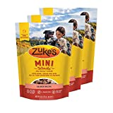 Zuke's Mini Naturals Dog Treats Salmon Recipe 6 oz 3 Pack Review