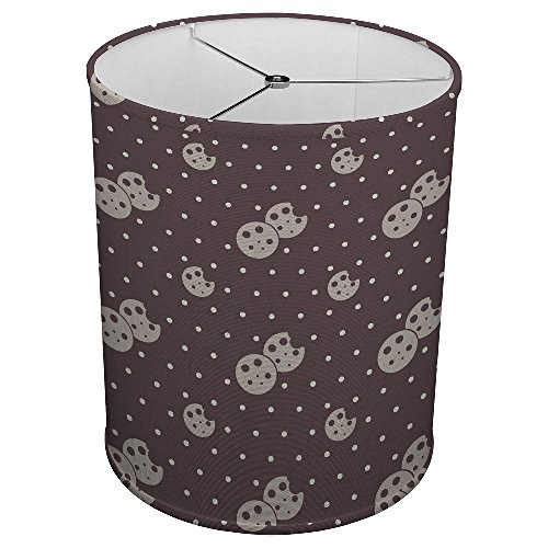 Cookie Cylinder - Hardback Linen Drum Cylinder Lamp Shade 8