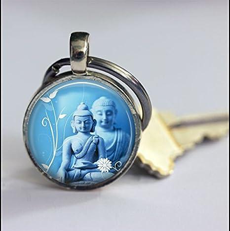 Llavero de Buda, accesorios de llavero, regalo especial ...