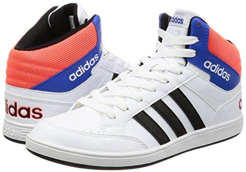 Adidas Hoops Mid K–Sneaker für Kinder, Weiß–