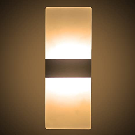 best service ef576 b369d Modern Acrylic Wall Lights 6W LED Wall Sconce Lights Indoor ...