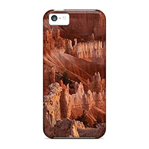 Shock Absorbent Hard Cell-phone Case For Apple Iphone 5c With Allow Personal Design High-definition Breathtaking Bryce Canyon Utah Pictures LeoSwiech
